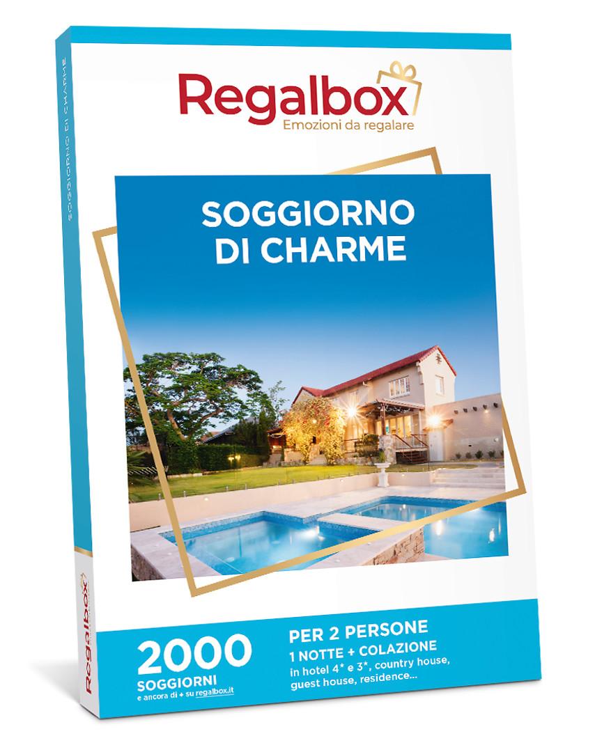 Cofanetto regalo Soggiorno di charme | Regalbox