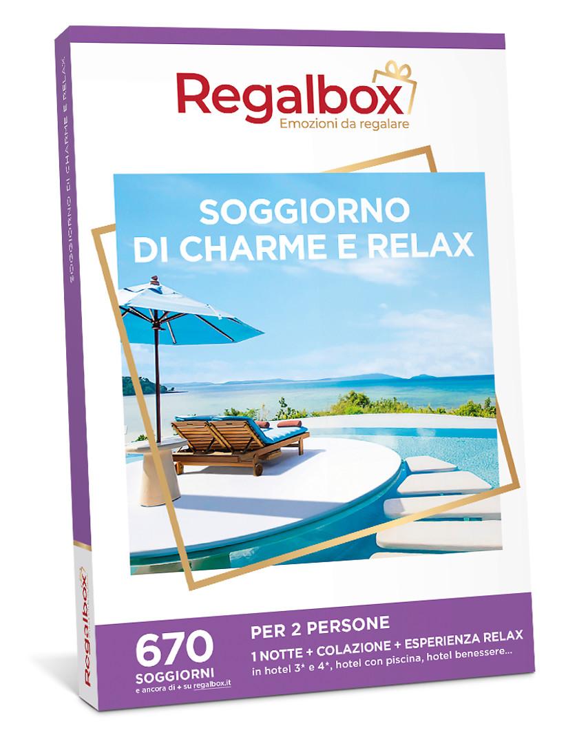 Cofanetto regalo Soggiorno di charme e relax | Regalbox